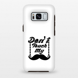 Galaxy S8 plus  dont touch moustache by