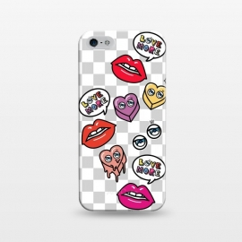 iPhone 5/5E/5s  HEARTS & LIPS by Michael Cheung