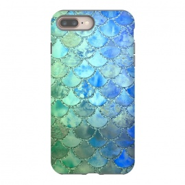 Ocean green and blue Mermaid Scales by Utart