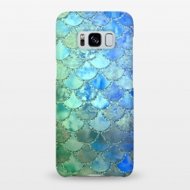 Galaxy S8+  Ocean green and blue Mermaid Scales by Utart