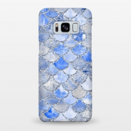 Galaxy S8+  Blue and Silver Mermaid Scales by Utart
