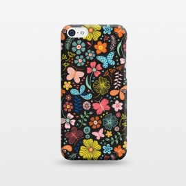 iPhone 5C  Butterfly Garden by Portia Monberg