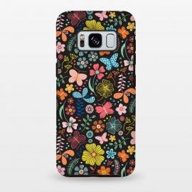 Galaxy S8 plus  Butterfly Garden by