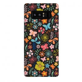 Galaxy Note 8  Butterfly Garden by
