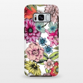 Galaxy S8 plus  Summer Flowers by