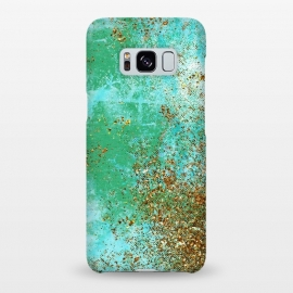 Galaxy S8+  Green and Gold Mermaid Glitter SeaFoam by Utart