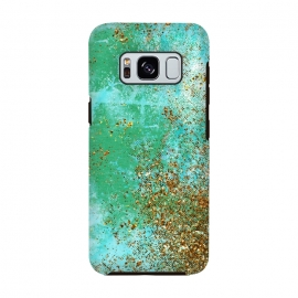 Galaxy S8  Green and Gold Mermaid Glitter SeaFoam by Utart