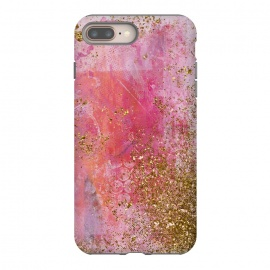 Pink and Gold Mermaid Glitter Seafoam by Utart