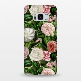Galaxy S8+  Victorian Vintage Camellia Pattern by Utart