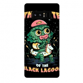 Galaxy Note 8  Cute of the black lagoon! by Ilustrata (horror movie, trash movie, movie, TV, 30s, retro, cute, black, lagoon, vintage, monster, lake, green, natural, forest, water, horror)