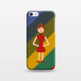 iPhone 5C  fashionable girl standing by TMSarts