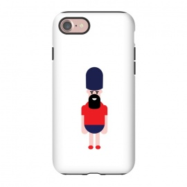 iPhone 8/7  cartoon guard standing  by TMSarts