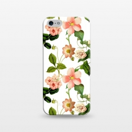 iPhone 5/5E/5s  Lovely vintage flower pattern by Utart