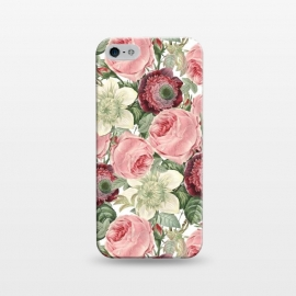 iPhone 5/5E/5s  Pastel Vintage Roses Pattern by Utart