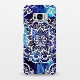 Galaxy S8+  Queen Starring of Mandalas Navy by ''CVogiatzi.