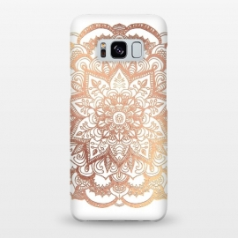 Galaxy S8+  Mandala Rose-Gold Shine by ''CVogiatzi.