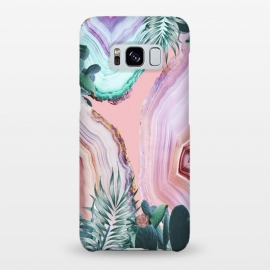 Galaxy S8+  Mineral Agates & Garden #Glam collection by ''CVogiatzi.