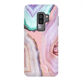 Galaxy S9 plus  Mineral Agates #Glam collection by