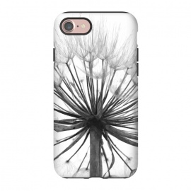 iPhone 8/7  Black and White Dandelion by Alemi