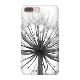 Black and White Dandelion by Alemi