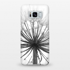 Galaxy S8+  Black and White Dandelion by Alemi