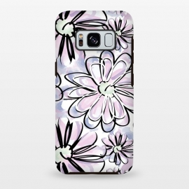 Galaxy S8 plus  Watercolor flowers by