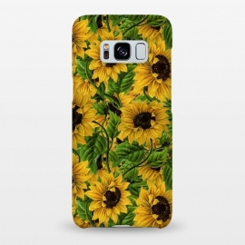 Galaxy S8+  Vintage Sunflower Pattern by Utart