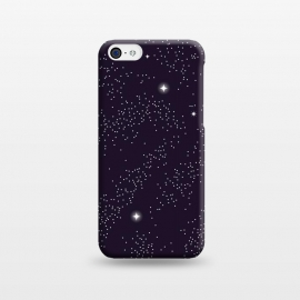 Universe with planets and stars seamless pattern, cosmos starry night sky 005 by Jelena Obradovic