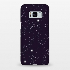 Galaxy S8+  Universe with planets and stars seamless pattern, cosmos starry night sky 005 by Jelena Obradovic