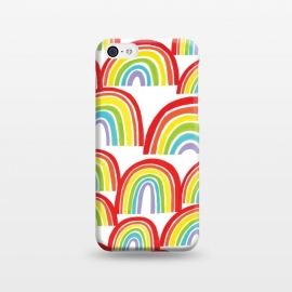 iPhone 5C  Rainbow Shine by Kimrhi Studios