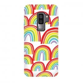 Galaxy S9 plus  Rainbow Shine by  (rainbows,rainbow,weather,pattern,gouache,painted)