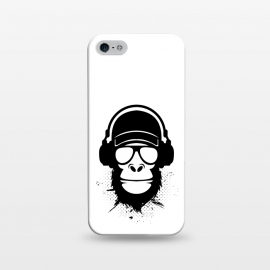 iPhone 5/5E/5s  cool dude monkey by