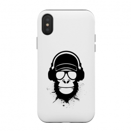 iPhone Xs / X  cool dude monkey by TMSarts