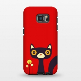 Galaxy S7 EDGE  cartoon fox by TMSarts