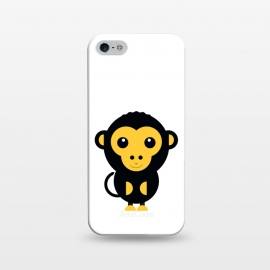 iPhone 5/5E/5s  cute little baby monkey by TMSarts