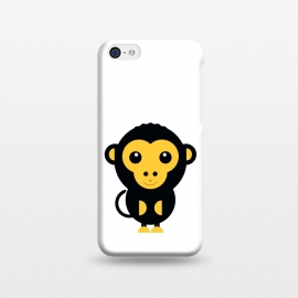 iPhone 5C  cute little baby monkey by TMSarts