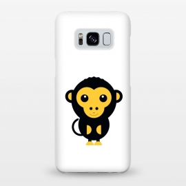 Galaxy S8+  cute little baby monkey by TMSarts