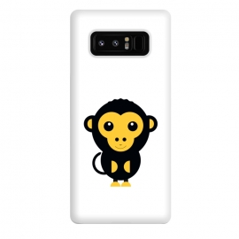 Galaxy Note 8  cute little baby monkey by TMSarts