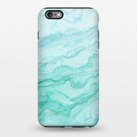 iPhone 6/6s plus  Teal and Turquoise Marble Ink by Utart