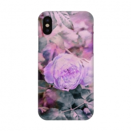 iPhone X  Rose Mixed Media Art by Andrea Haase