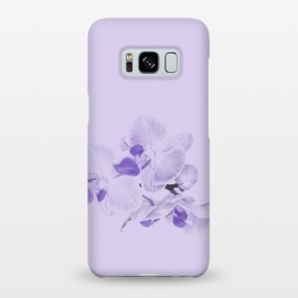 Galaxy S8+  Purple Orchid Flower by Andrea Haase