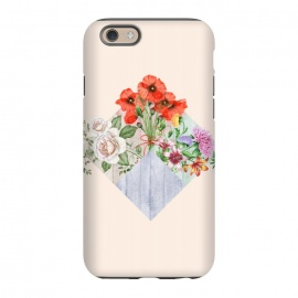 iPhone 6/6s  Floral Blocks by Creativeaxle