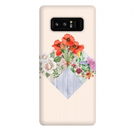 Galaxy Note 8  Floral Blocks by Creativeaxle