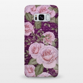 Galaxy S8+  Nostalgic Rose PAttern by Andrea Haase