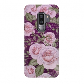 Galaxy S9 plus  Nostalgic Rose PAttern by