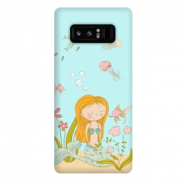 Galaxy Note 8  Little Mermaid by Utart