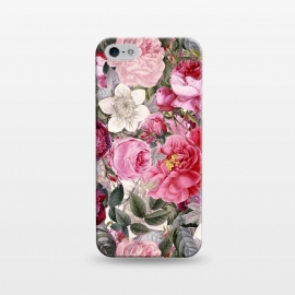 iPhone 5/5E/5s  Luxuriantly Vintage Flower Pattern by Utart