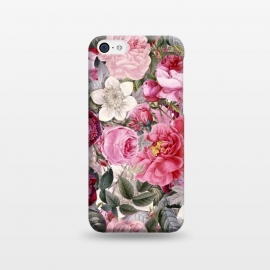 iPhone 5C  Luxuriantly Vintage Flower Pattern by Utart