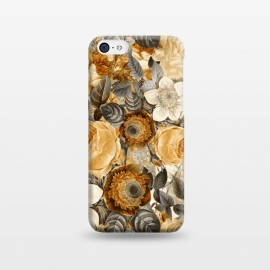 iPhone 5C  luxuriantly gold vintage floral pattern by Utart