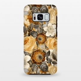 luxuriantly gold vintage floral pattern by Utart
